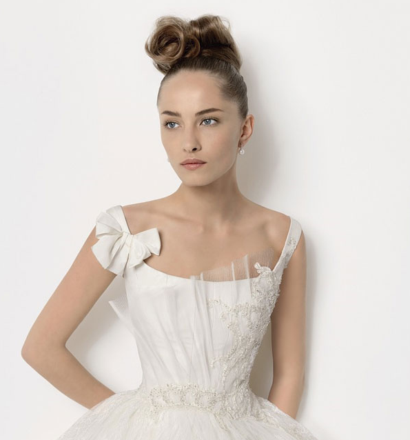 Christian Lacroix wedding dresses for Rosa Clara