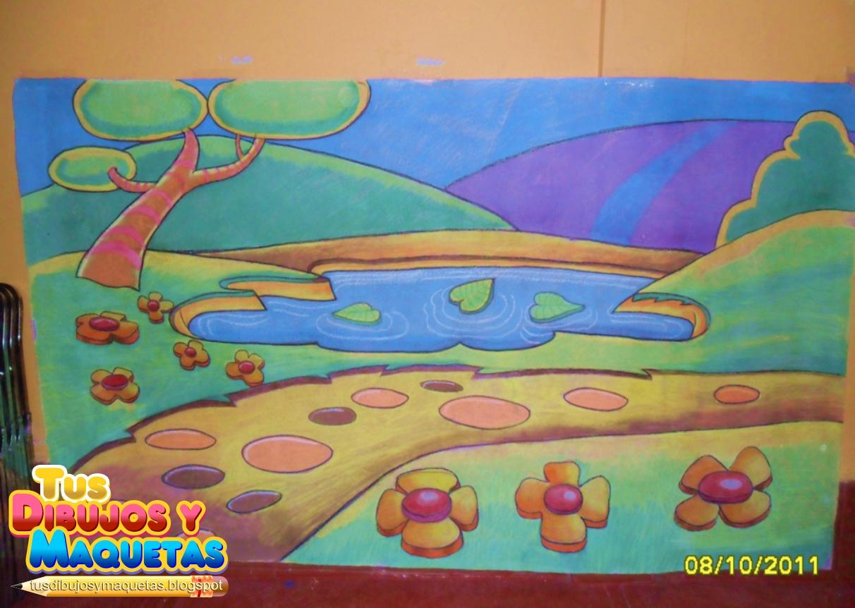 Tus dibujos y maquetas ayuda con tus tareas en m xico d for Un mural facil de hacer