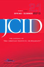 Journal of the Christian Institute on Disability