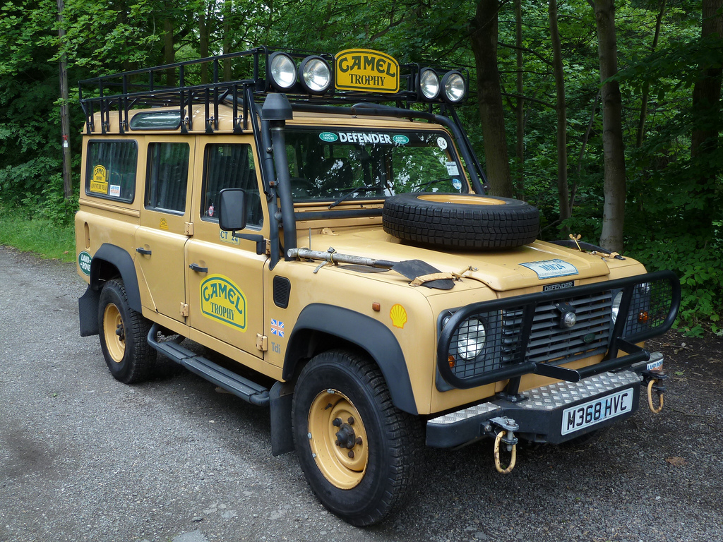 Land Rover Defender 90 Camel Trophy Pics