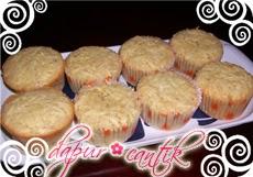 cupcake pisang dapur cantik