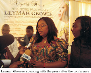 THE DAY LAGOS STOOD STILL FOR LEYMAH GBOWEE