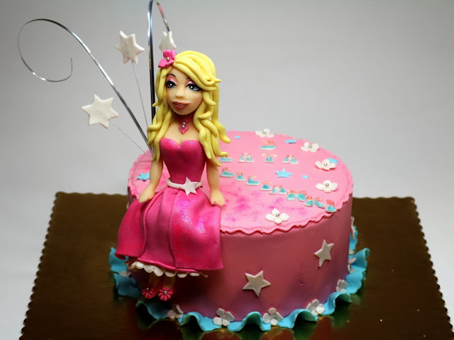Barbie Girl Birthday Cake for Girl , London