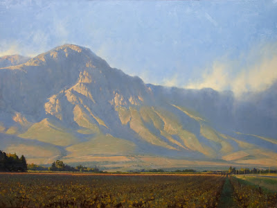 Hex River Valley – 30″x 40″ – Oil