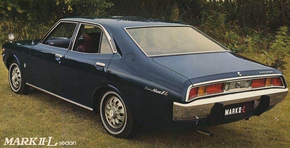 Toyota Corona Mark II-L, X10, X20, japoński sedan, klasyk, トヨペット