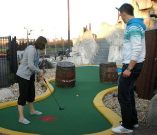 Photo of the Treasure Island Adventure Golf course in Southsea