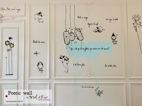 Le mur des nouveautés Pré d'eau automne/hiver 2014