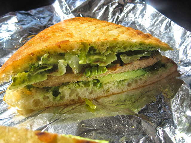 Vegan NYC Sandwiches - Un-Chicken Avocado Griller - Blossom Du Jour