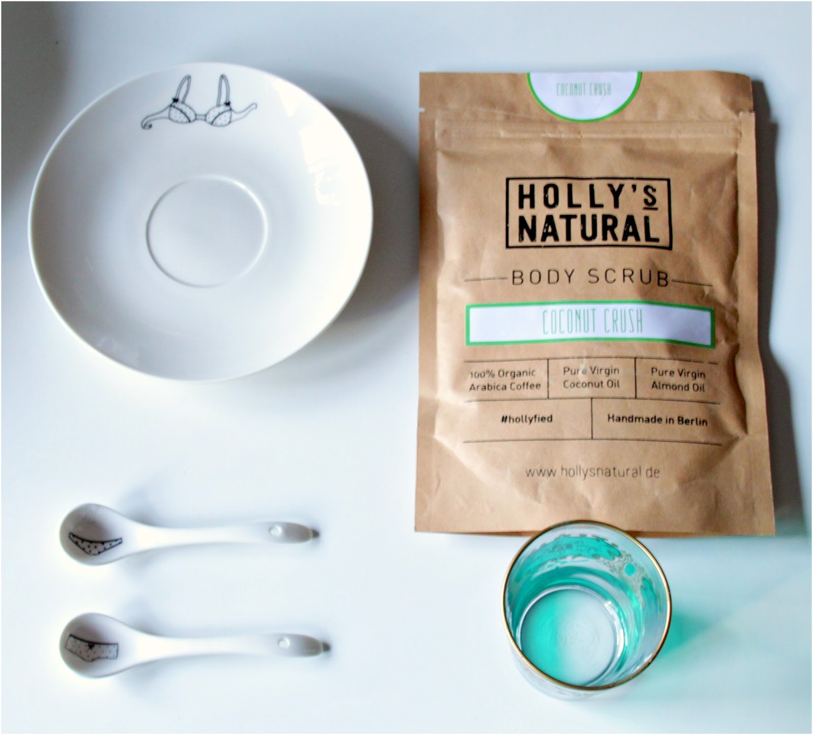 All you need for the perfect Body Scrub Session! Holly´s Natural