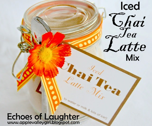 Iced Chai Tea Latte Mix