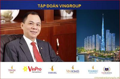 Thương hiệu uy tín hàng đầu của tập đoàn Vingroup