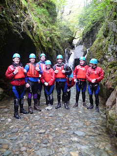 Canyoning Sessions in North West England.