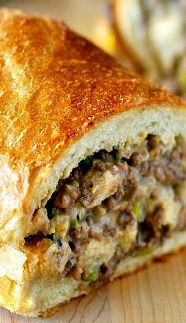 STUFFED FRENCH BREAD ~ Recipe of today