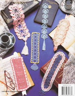Beautiful Bookmarks in crochet