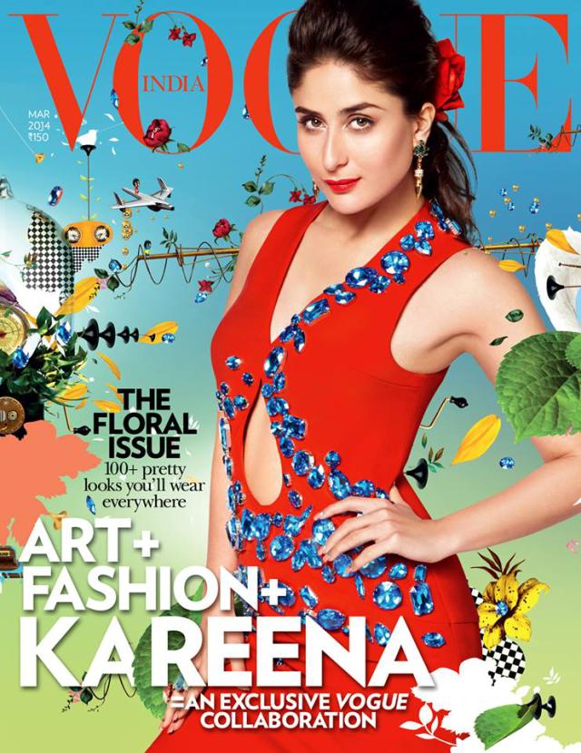 Kareena Kapoor en Vogue Magazine