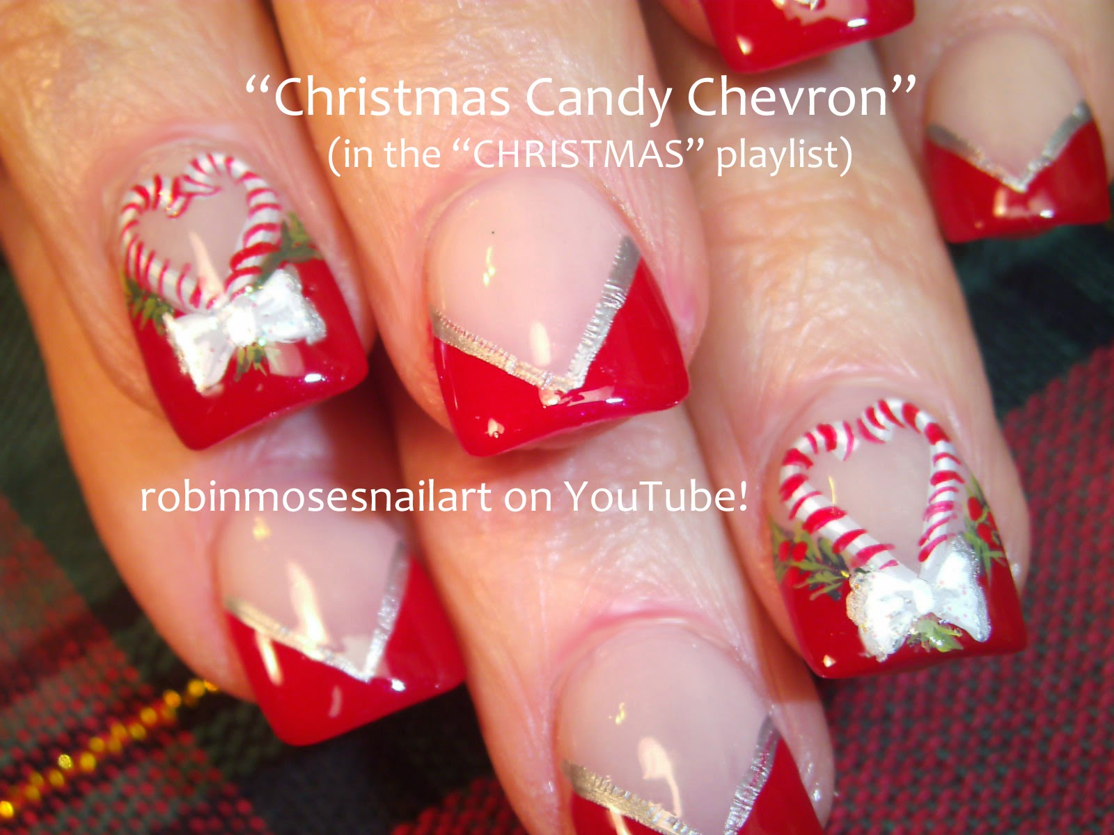 Robin moses nail art christmas nails xmas nails xmas nail nail art tutorials christmas nail art diy xmas nails easy holiday nail art for beginners and up prinsesfo Gallery