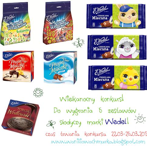 Wielkanocny konkurs z marką Wedel