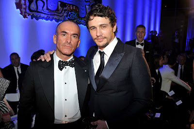 Paolo Diacci and James Franco