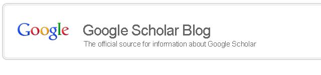Blog Google Scholar