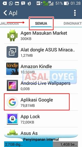 Google Penelusuran terhenti