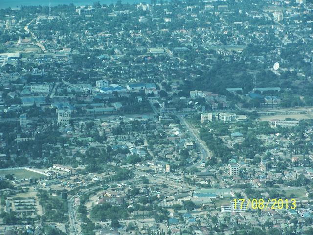 Dar Es Salaam from the Air