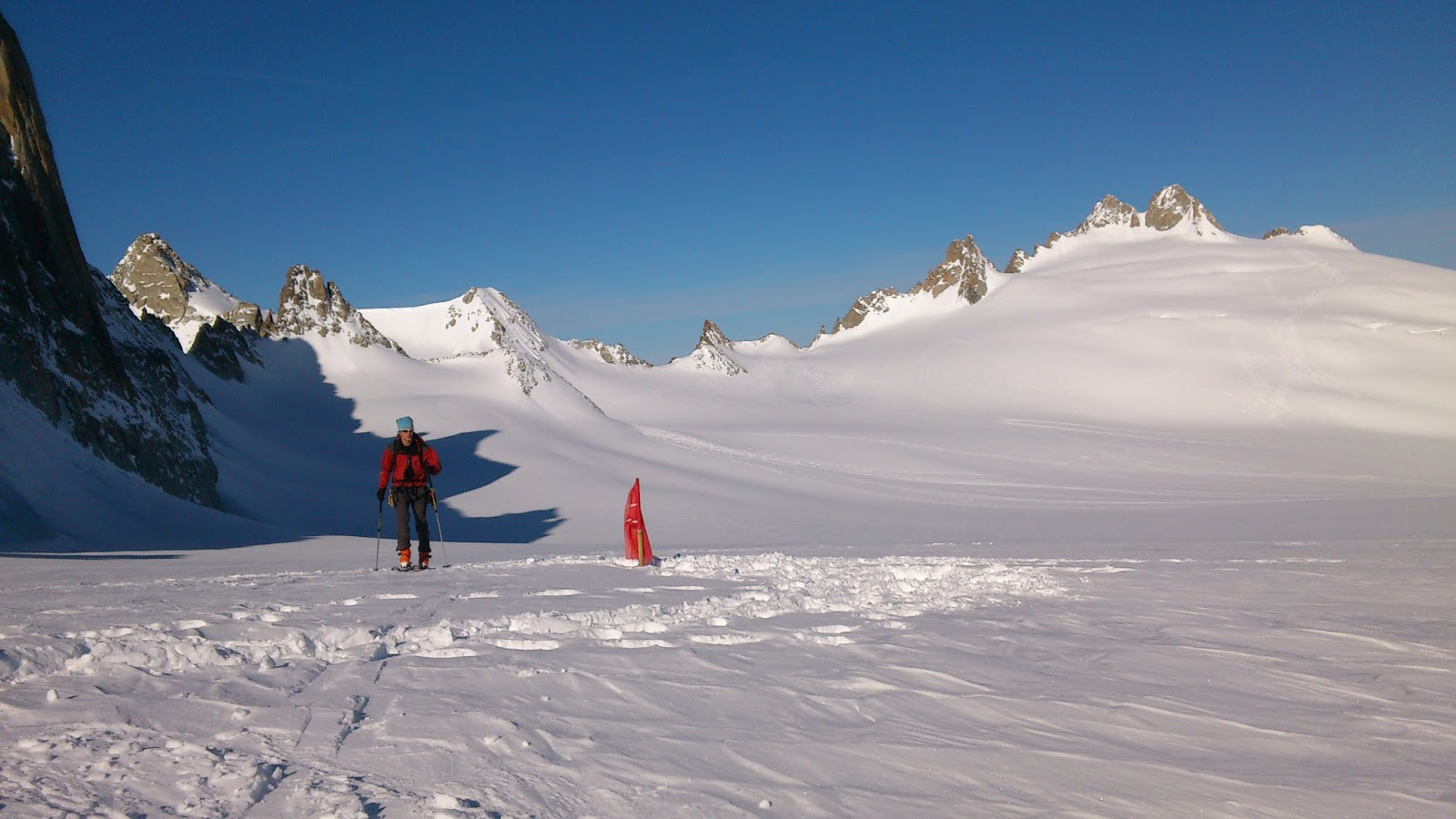 Výstup do sedla Col Droit 3.325 m n.m.
