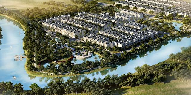 Không gian sống trong lành tại Park Riverside