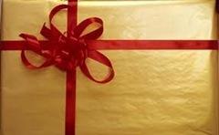 Hemliga pysselpaketet vanns av Annelie med bloggen skaparglädje