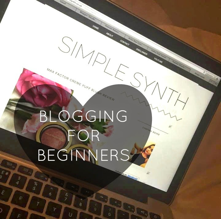 Blogging Tips For Beginners Simple Synth