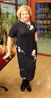 платье из Бурды джерси