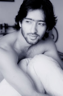 Shirtless Shaheer Sheikh