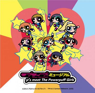 Love Live Powerpuff Girls