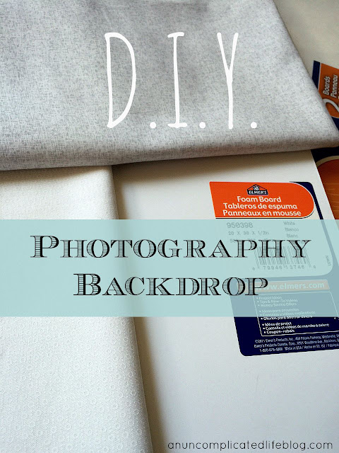 DIY Photography Backdrop