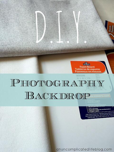 DIY Photography Backdrop