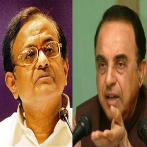 subramnaiam swamy twitter tweet on p chidambaram uzbegistan girls
