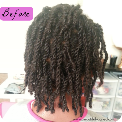 Beautifully Curled: Rope Twist Out Results
