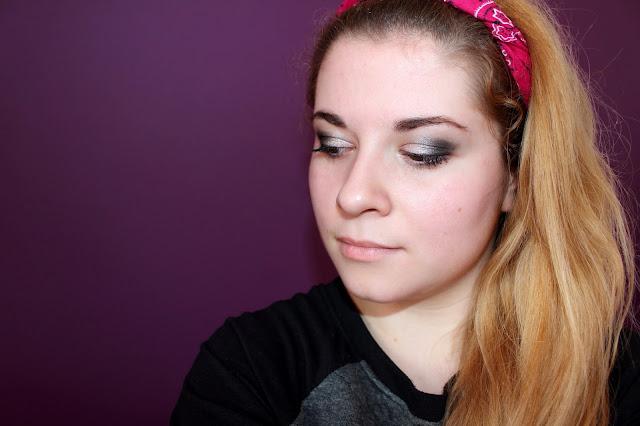 Maquillage réalisé avec la palette Iconic 1 Makeup Revolution