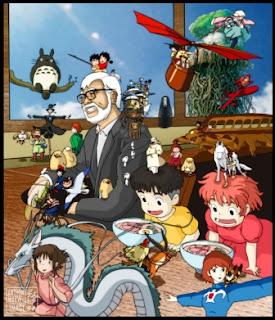 Dibujo de Hayao Miyazaki