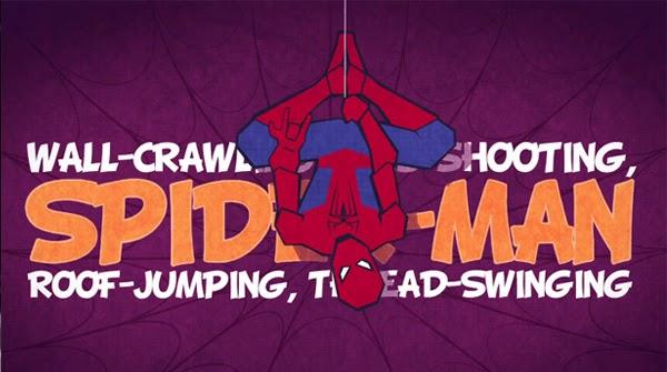 Homenaje a Spider-Man con animación vectorial