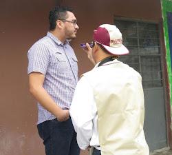 ENTREVISTANDO AL DIPUTADO EMILIANO