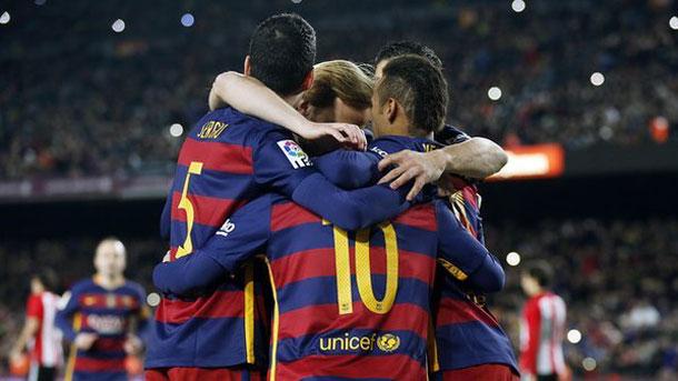 Los goles de Luis Suárez, Gerard Piqué y Neymar sentenciaron al Athletic de Bilbao