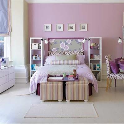 dormitorios morados