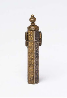 Funda palillo de dientes. Inglaterra. XVI-XVII. Lacasamundo.com