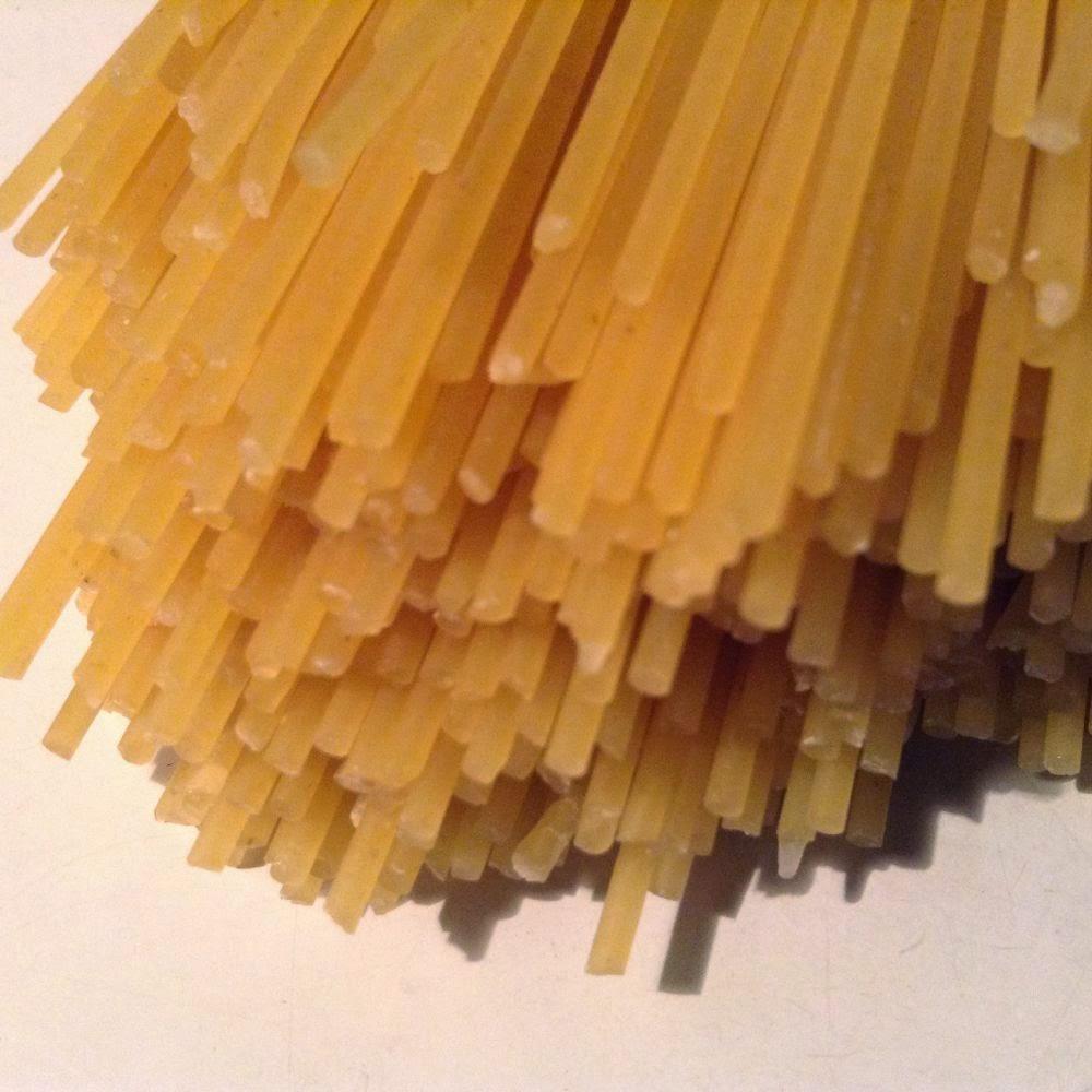 fideos secos de trigo candeal