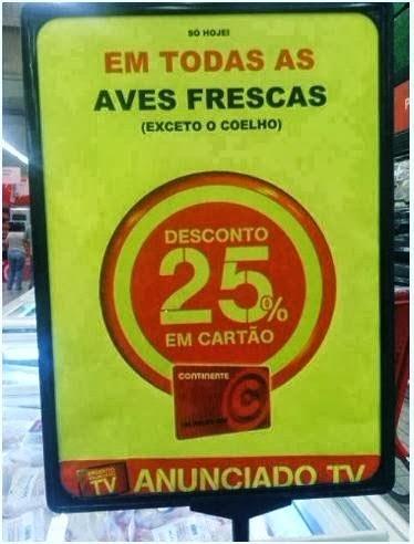 Grandes promoções nos supermercados portugueses