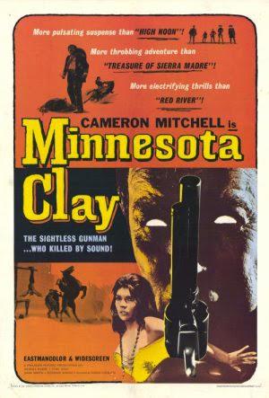 Minnesota Clay Vintage 1964 Film Poster