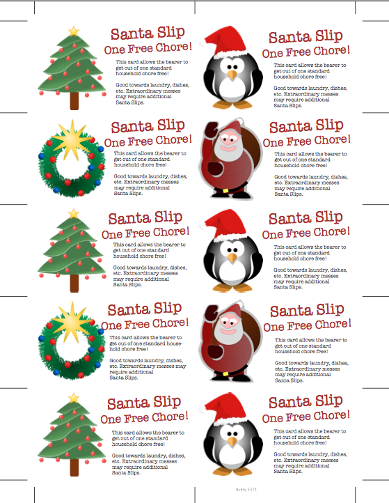 Project Secret Santa Gift Giving Printables Freebie | Review Ebooks