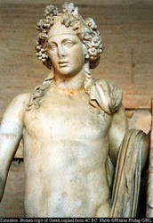 Dionysos - who features in THE MAN WITH THE HORN
