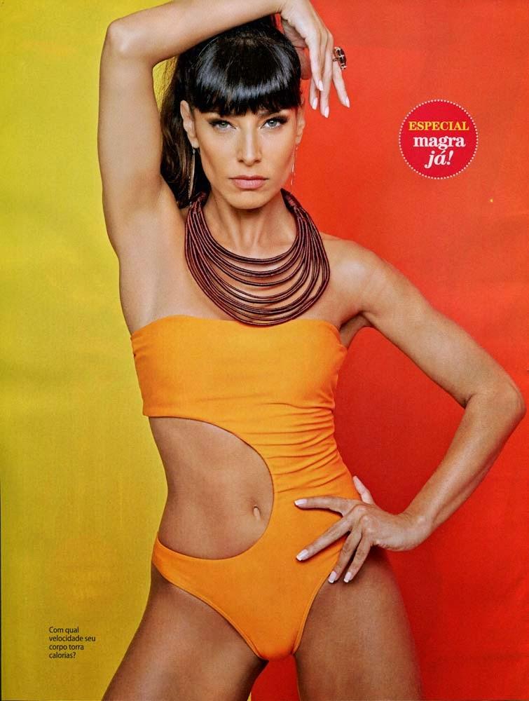 A modelo Barbara Nogueira está no editorial de maio da Revista Shape!