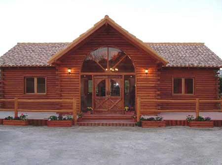 Casas extraordinarias casas de campo for Casas de campo de madera